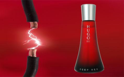 Hugo Deep Red