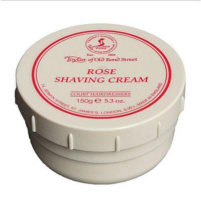 Taylor of Old Bond Street Rose Shaving Cream Bowl 150g
