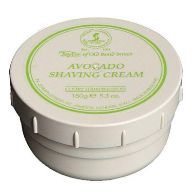 Taylor of Old Bond Street Avocado Shaving Cream Bowl 150g
