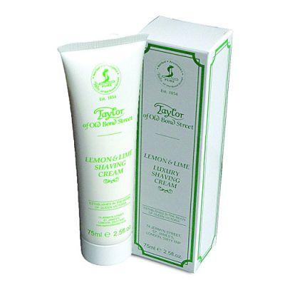 Taylor of Old Bond Street Soap Lemon & Lime Shaving Cream 75ml