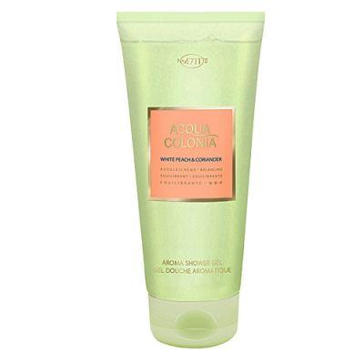 4711 Acqua Colonia White Peach & Coriander Aroma Shower Gel 200ml