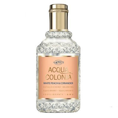 4711 Acqua Colonia White Peach & Coriander Eau de Cologne Spray 50ml