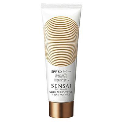 Sensai Silky Bronze Cellular Protective Cream for Face SPF 50 50ml
