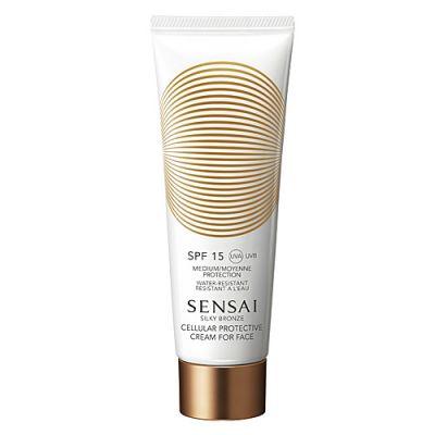 Sensai Silky Bronze Cellular Protective Cream for Face SPF 15 50ml