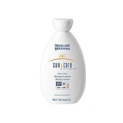 Hildegard Braukmann Sun & Care Aloe Vera Körperlotion SPF 50 200ml
