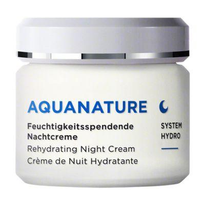 Annemarie Börlind AquaNature Feuchtigkeitsspendende Nachtcreme 75ml SG