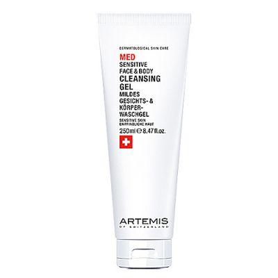 Artemis Med Sensitive Face & Body Cleansing Gel 250ml
