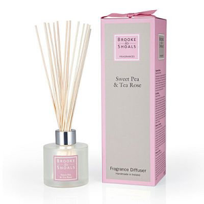 Brooke & Shoals Raumduft Wicke & Teerose 120ml
