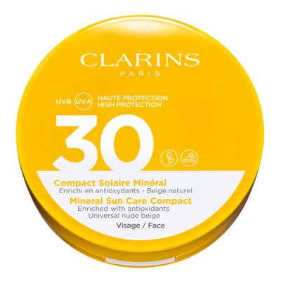 Clarins Compact Solaire Minéral Visage UVB/UVA 30 15g