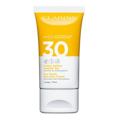 Clarins Crème Solaire Toucher Sec Visage UVB/UVA 30 50ml