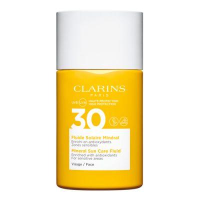 Clarins Fluide Solaire Minéral Visage UVB/UVA 30 30ml