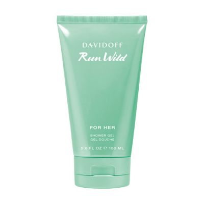 Davidoff Run Wild for Her Shower Gel 150ml
