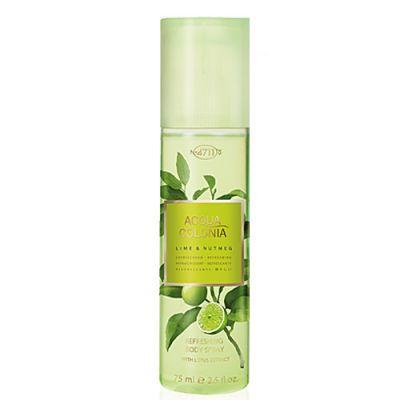 4711 Acqua Colonia Lime & Nutmeg Body Spray 75ml
