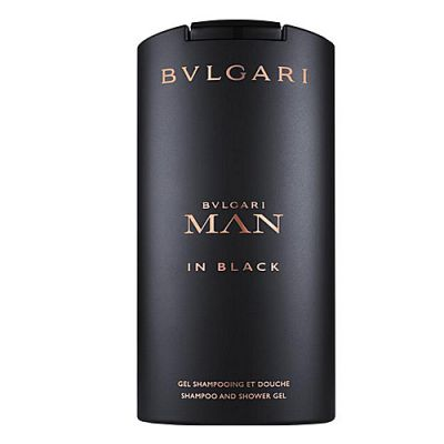 Bvlgari Man in Black Shampoo & Shower Gel 200ml