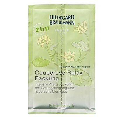 Hildegard Braukmann Emosie Face Couperose Relax Packung 12 Anwendungen