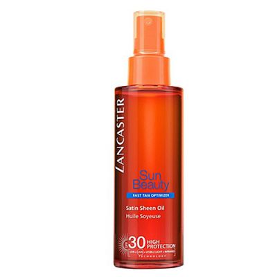 Lancaster Sun Beauty Satin Sheen Oil Fast Tan Optimizer SPF 30 150ml