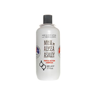 Alyssa Ashley Musk Hand & Body Lotion Triple Action 500ml