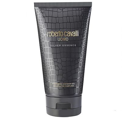 Roberto Cavalli Uomo Silver Essence Shower Gel 150ml
