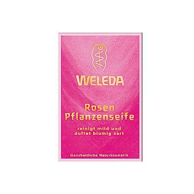 Weleda Rosen Pflanzenseife 100g