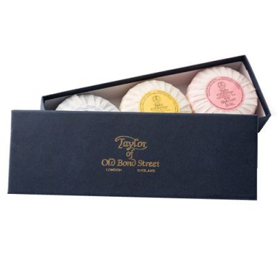 Taylor of Old Bond Street Mixed Hand Soap Gift Box 3x100g