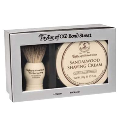 Taylor of Old Bond Street Sandalwood Gift Box Pure Badger 1 Stück
