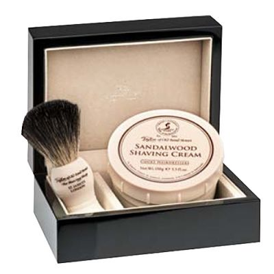 Taylor of Old Bond Street Sandalwood Lacquered Wooden Gift Box Pure Badger 1 Stück