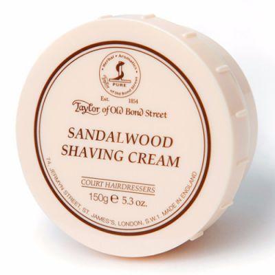 Taylor of Old Bond Street Sandalwood Shaving Cream Bowl 60g