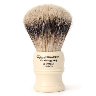 Taylor of Old Bond Street Super Badger Shaving Brush Ivory 1 Stück