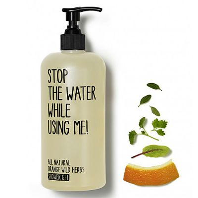 Stop The Water While Using Me All Natural Orange Wild Herbs Shower Gel 500ml