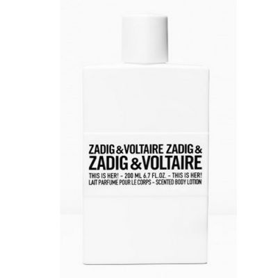 Zadig & Voltaire This is Her ! Body Lotion 200ml