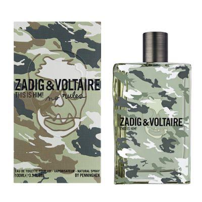 Zadig & Voltaire This is Him ! No Rules Eau de Toilette
