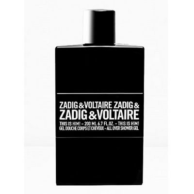Zadig & Voltaire This is Him ! Shower Gel 200ml