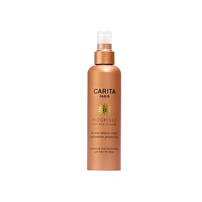 Carita Soleil Protecting and Moisturizing Sun Mist for Body SPF 15 200ml