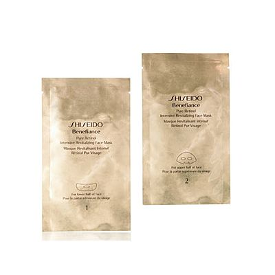 Shiseido Benefiance Pure Retinol Intensive Revitalizing Face Mask 4 St