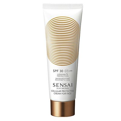 Sensai Silky Bronze Cellular Protective Cream for Face SPF 30 50ml