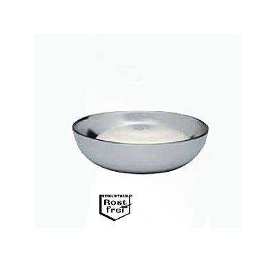 Seifenschale ohne Seife rostfrei 6cm 1 Stück