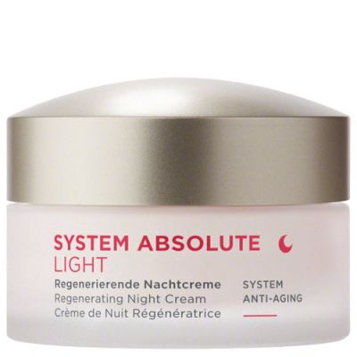 ANNEMARIE BÖRLIND SYSTEM ABSOLUTE Regenerierende Nachtcreme Light 50ml
