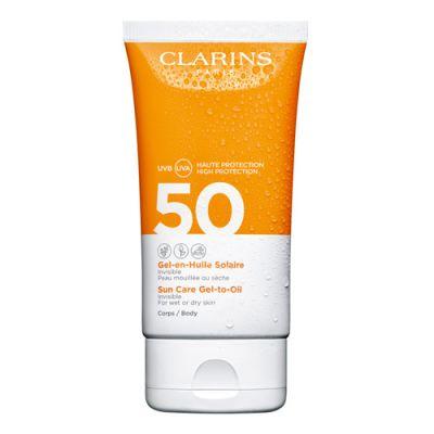 Clarins Sun Gel-En-Huile Corps SPF50 150ml