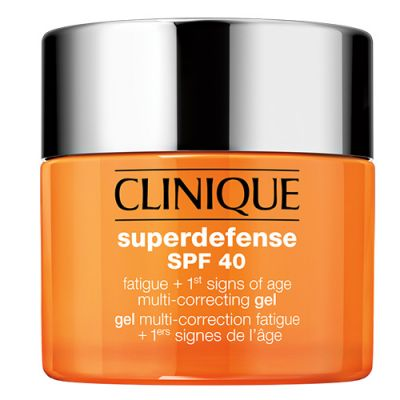 Clinique Superdefense SPF40 Fatigue + 1st Signs of Age Gel