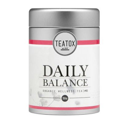 TEATOX Daily Balance Organic Wellness Tea 50g