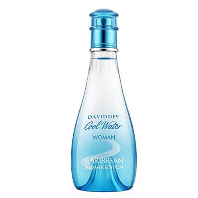 Davidoff Cool Water Woman Eau de Toilette Spray Caribbean Summer 100ml