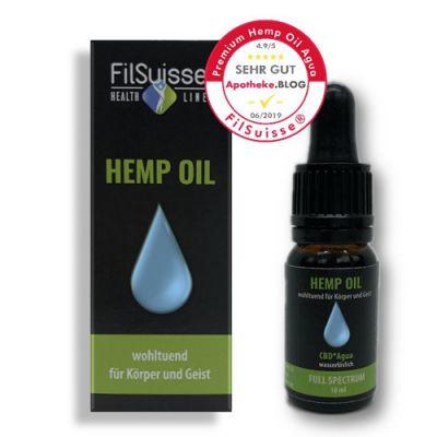 FilSuisse Hemp Oil Premium Agua