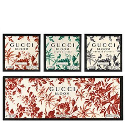 Gucci Bloom Perfumed Soap Set 3 Stück