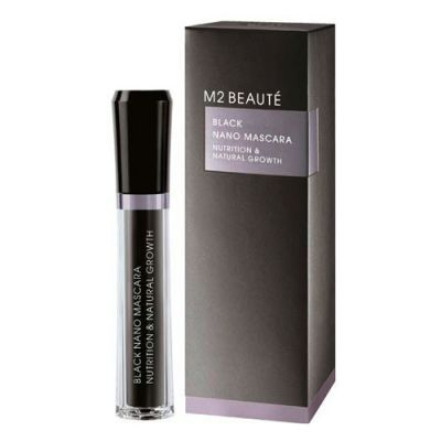 M2Beauté Black Nano Mascara Nutrition & Natural Growth 6ml
