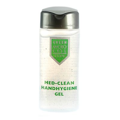 Micro Cell Green Med-Clean Handhygiene Gel Reisegröße 50ml