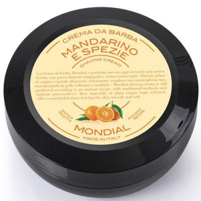 Mondial Shaving Cream Plexi Bowl Mandarino e Spezie 150ml