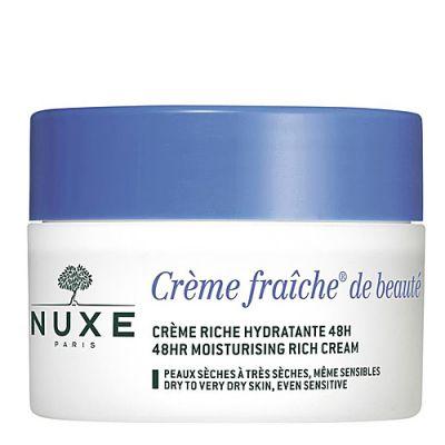 Nuxe Crème fraîche® de beauté Creme Riche Hydratante 48H 50ml