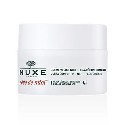 Nuxe Rêve de Miel® Crème de Visage Ultra-Réconforante Nuit 50ml
