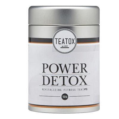 TEATOX Power Detox Organic Fitness Tea 50g
