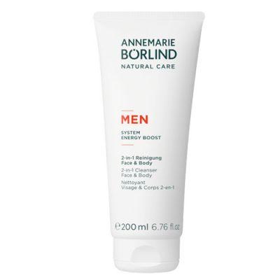 ANNEMARIE BÖRLIND MEN 2-In-1 Reinigung Face & Body 200ml
